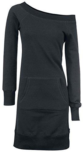 Forplay Long Wideneck Sweater Abito nero L