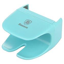 BASEUS Rein Series Car Steering Wheel Phone Holder Mount Clip for Mobile Phones-Blue