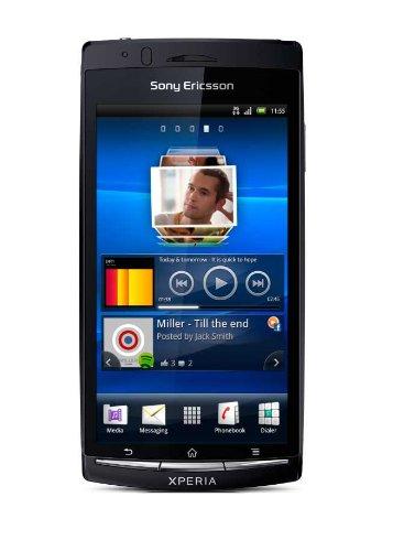 Sony Ericsson Xperia arc S Smartphone (10.7 cm (4.2 Zoll) Touchscreen, 8.1 Megapixel Kamera, Android 2.3 OS,  1GB Speicher) schwarz