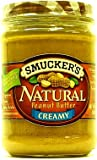 Smuckers Natural Peanut Butter Creamy 454g