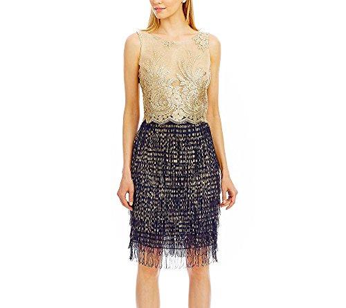 nicole-miller-new-york-two-piece-lace-and-chiffon-fringe-dress-8