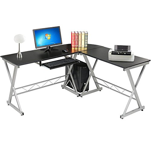 Yaheetech Home Office Computer Desk (Style G) L-Shape Assembly