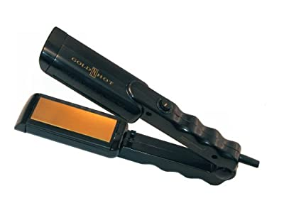 Gold 'N Hot GH9420 Professional Mini Straightening Iron with MTR