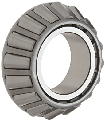 "Timken JW4549 Tapered Roller Bearing, Single Cone, Standard Tolerance, Straight Bore, Steel, Inch, 1.7717"" ID, 1.0430"" Width"