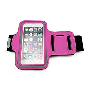 Enson®Running Armband for iPhone 6(4.7'')/5s/5/5c/4s/4/itouch/ ipod.-HOT PINK