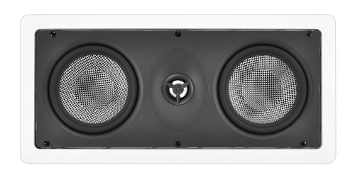 Osd Audio Mk-Iw550 Dual 5.25-Inch Kevlar Home Theatre In-Wall Center Lcr Speaker, Single