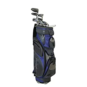 PowerBilt Ladies Grand Slam XT Golf Set (Right Hand, Graphite, +1- Inch)