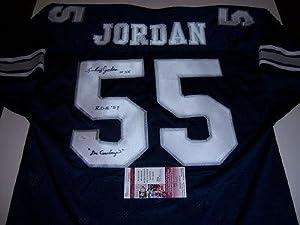 Lee Roy Jordan Autographed Jersey - alabama Jsa coa - Autographed NFL Jerseys by Sports+Memorabilia