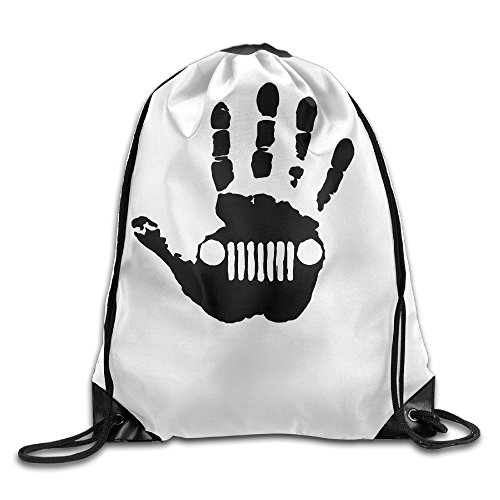 Carina Jeep Skeleton Handprint Fashion Port Bag One Size