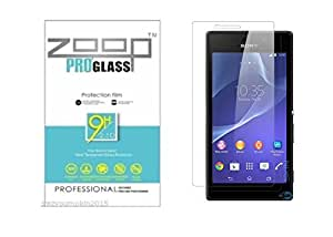 Zoop Premium 2.5D Rounded 9H 2.6mm Anti Burst Tempered Glass for Sony Xperia Z3 compact