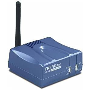 TRENDnet Wireless 1-Port Print Server - Q72775
