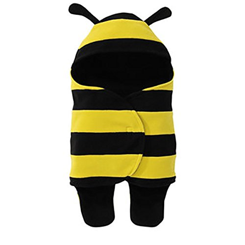 cute-acogedor-abeja-recien-nacido-asiento-de-coche-wrap-saco-amarillo