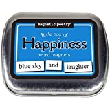 Magnetic Poetry - Little Box of Happiness - Words for Refrigerator - Write Poems and Letters on the Fridge