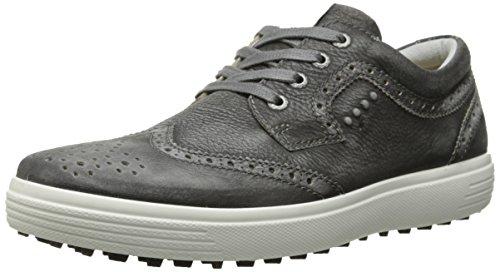 ECCO Men's Casual Hybrid Golf Shoe, Black, 44 EU/10-10.5 M US