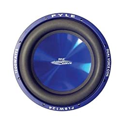 Pyle 12in 1200w Hp Sub Pyle 5 1/4in 2-wy Marine PL-BW124