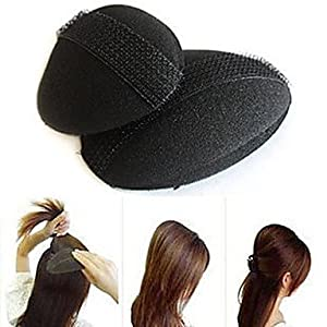 Prinzessin Style Haarschmuck erhöhen Vorrichtungs bulkness Schwamm-Haar-Maker