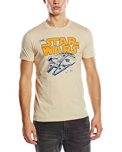 Star Wars T-Shirt Retro Falcon sand