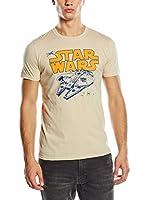 Star Wars Camiseta Manga Corta Retro Falcon (Arena)