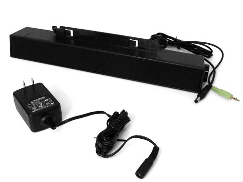 Dell C730C Soundbar Sound Bar Speakers Ax510+As510Pa (Power Adapter Included) For Dell Ultrasharp Lcd Flat Panel Monitors