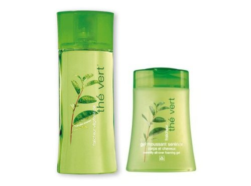 Yves Rocher The Vert 2-piece Fragrance Set. Not available in USA. Imported. TAKES 5 WEEK TO BE DELIVERED FROM EUROPE; TIME LENGHT DEPENDS FROM CUSTOMS CLEARANCE