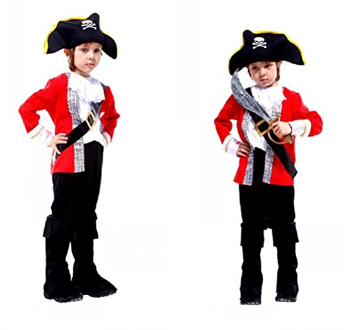 Ponce Halloween Pirates Of The Caribbean Show Children Suit