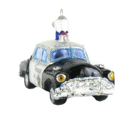 Old World Christmas Police Car