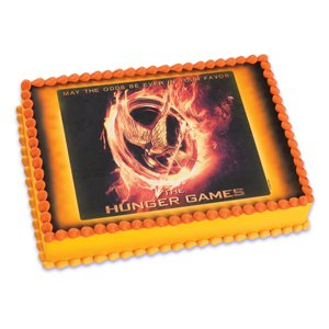 The Hunger Games ~ Edible Image Cake / Cupcake Topper