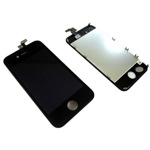 For iphone 4S LCD Digitizer Glass Touch Screen Assembly Replacement and Repairing Tools for AT&T (GSM) - Black