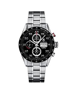 TAG Heuer Men's CV2A10.BA0796 Carrera Automatic Chronograph Watch from TAG Heuer