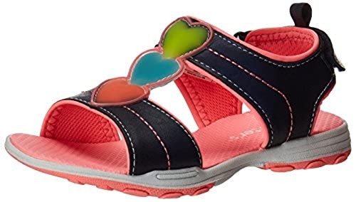 09. Carter's Light-Up Sparkly 2 Light Up Athletic Sandal (Toddler/Little Kid)