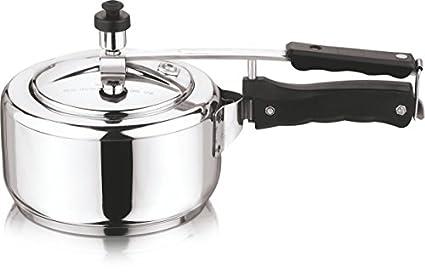 Vinod-Cookware-Sandwich-Bottom-5-L-Pressure-Cooker-(Induction-Bottom,Inner-Lid)
