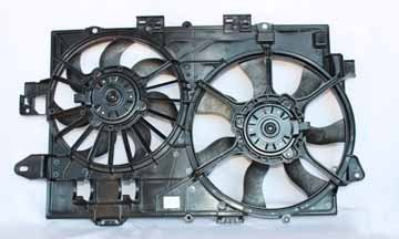 TYC 621670 Chevrolet/Pontiac Replacement Radiator/Condenser Cooling Fan Assembly from TYC