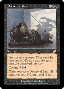 Decree of Pain (Magic the Gathering : Scourge #64 Rare)