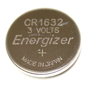Energizer-Eveready 04096 - 3 Volt Lithium Button Cell Watch Battery (ECR1632BP (CR1632))