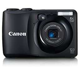 Canon Powershot A1200 12.1 MP Digital Camera with 4x Optical Zoom (Black)