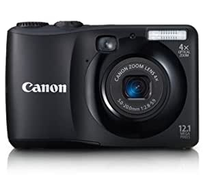 Canon Powershot A1200 12.1 MP Digital Camera with 4x Optical Zoom (Black) (Discontinued by Manufacturer)