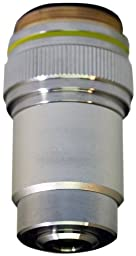National Optical 710-045 10X DIN Objective, N.A. 0.25, For 130 Microscopes