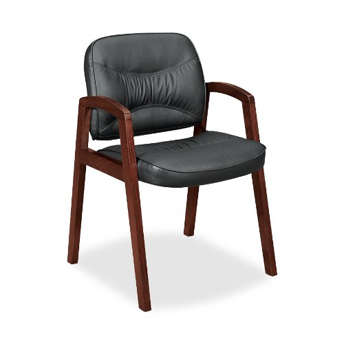 basyx by HON VL803 Series Guest Chair with Arms, Black
