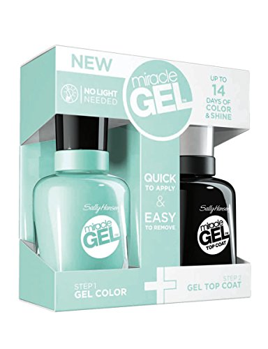 Sally Hansen Miracle Gel - Top Coat and Blue Hue - Limited Edition - Just Released
