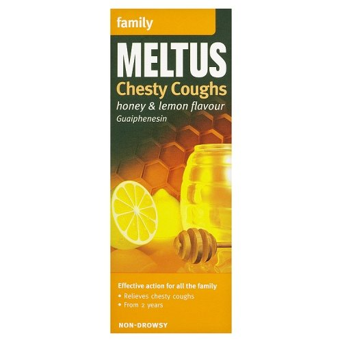 Meltus Chesty Coughs Honey & Lemon Flavour Family 150ml