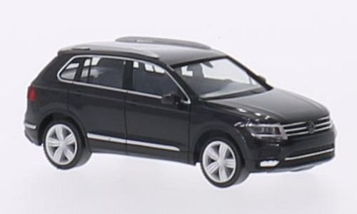 VW-Tiguan-II-dunkelgrau-2016-Modellauto-Fertigmodell-Herpa-187