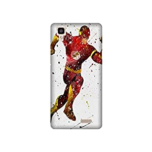 Yashas Oppo R7 Designer Printed Case & Covers (Oppo R7 Back Cover) - Superhero Flash