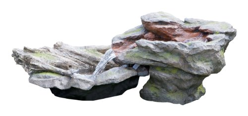Utsuri Falls Stone River Water Feature with Pond (1.8m/ 5'10