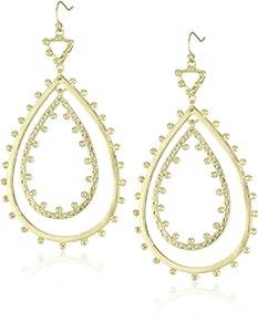 """Kendra Scott """"Signature"""" Rumer Gold Drop-Earrings"""