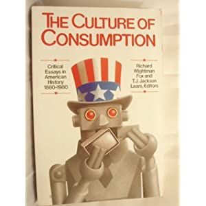 """1880 1980 american consumption critical culture essay history in Interestingly, before the 1980s, the more specific figure of a """"cultural  of  consumption: critical essays in american history, 1880–1980 (new."""