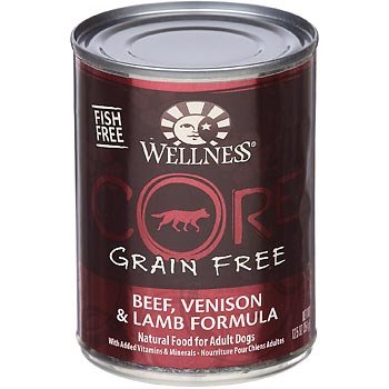 Wellness Wlns Core Dog Red Meat 12.5 Oz (Pack Of 12)