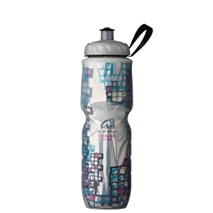 Polar Bottle Techno Tile Insulated Water Bottle, 24-Ounce