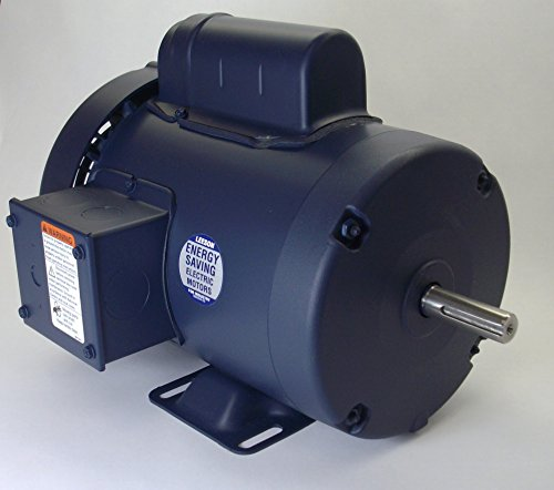 1.5 Hp 3450 Rpm 56 Frame Tefc 115/208-230 Volts Leeson Electric Motor # 110094