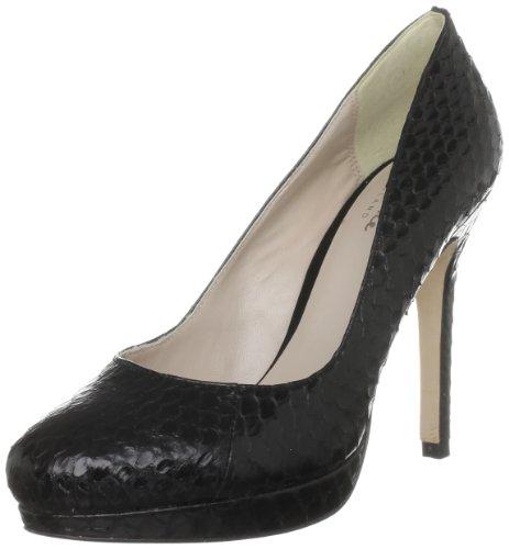 Bourne Women's Agnes Black Platforms Heels L09059 5.5 UK