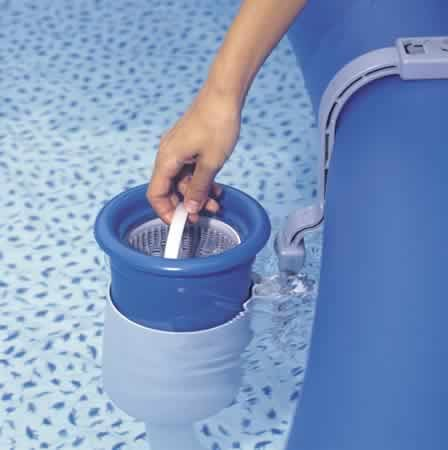 Intex Swimming Pool Leaf Catcher Skimmer for Easy Set Pool Only